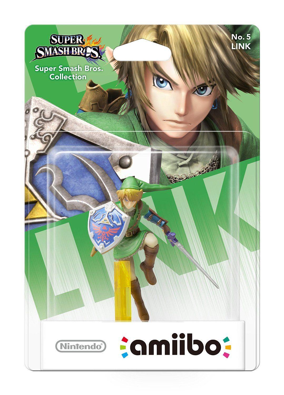 Nintendo Amiibo фигура - Link [Super Smash Bros. Колекция] (Wii U) - 6